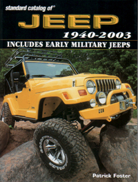 The Standard Catalog of Jeep – 1940-2003